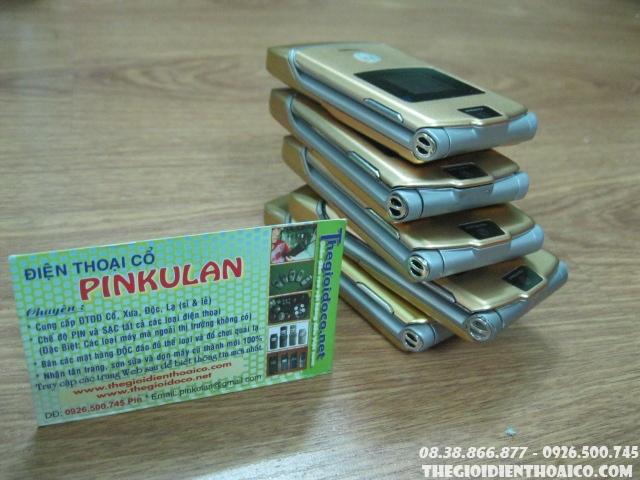Tổng Hợp Motorola V3, Motorola V3i, V3 Gold, V3 Razr Và Phụ Kiện Liên Quan Đến V3