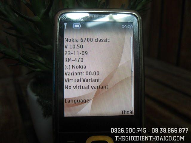 Nokia 6700 MS 1629 Đẹp 93%
