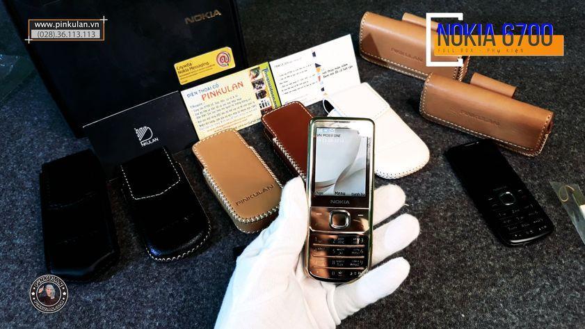 Nokia 6700 Gold full box