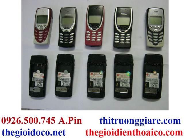 Nokia 8250 Và Linh Kiên Nokia 8250