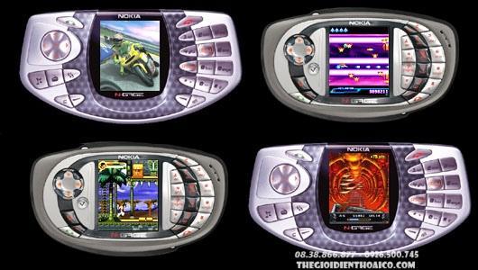 Chuyên Nokia Ngage, Linh Kiện Ngage, Cài Game Ngage, Thẻ Nhớ Game Ngage