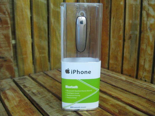 Tai Nghe Bluetooth táo iPhone xanh