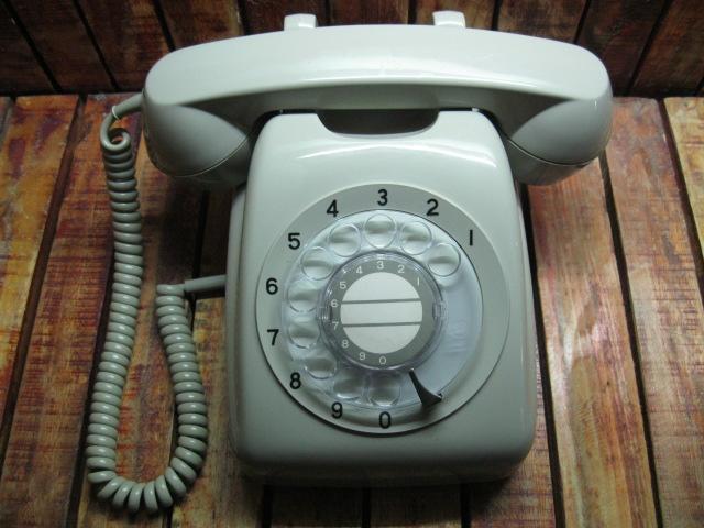 Điện thoại quay số của Nhật màu xám Đẹp 99% MS 1731