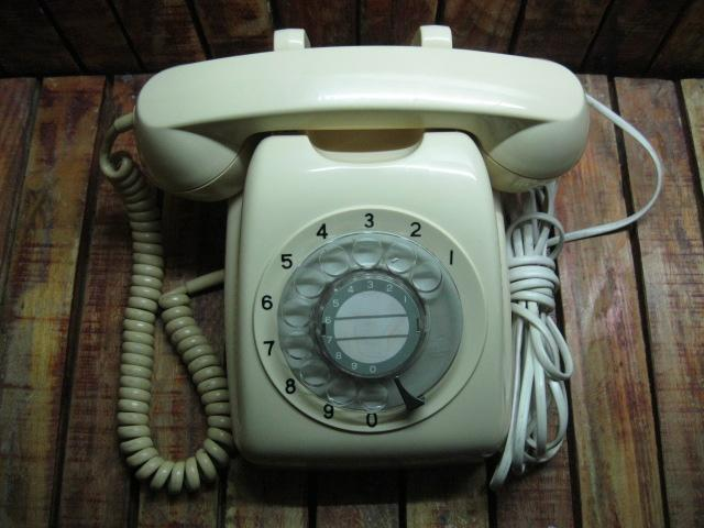 Điện thoại quay số của Nhật màu vàng Đẹp 9% MS 1733