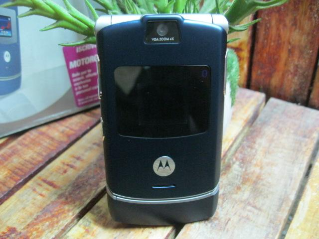 Motorola V3i Fullbox Zin 99% MS 1804