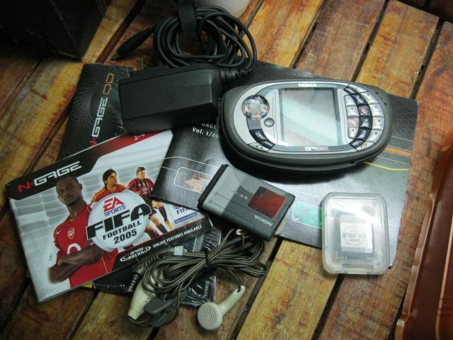 Nokia N-Gage Zin Full Box MS 1815