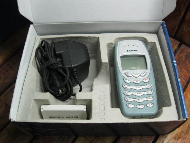 Nokia 3410 Zin Full Box MS 1823