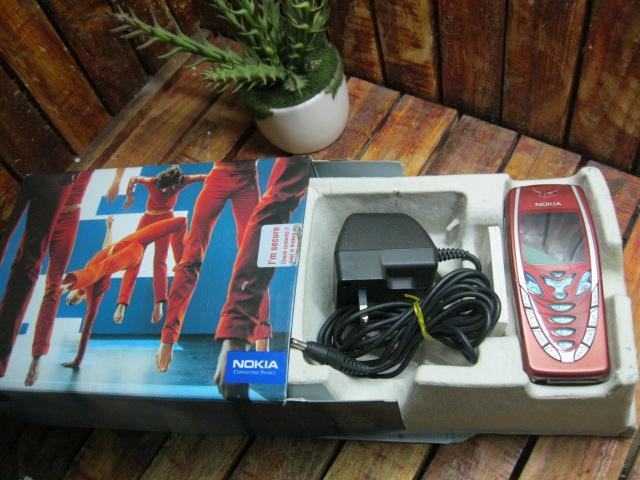 Nokia 7210 Zin Full Box MS 1824