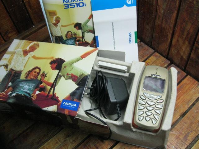Nokia 3510i Zin Full Box MS 1826