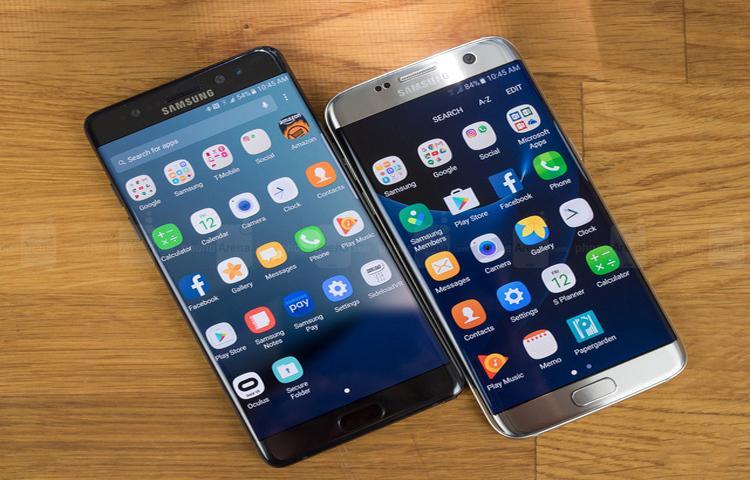 Note7 bị thu hồi làm doanh số hai chiếc điện thoại khác của Samsung lên tới hơn 150% ở Việt Nam