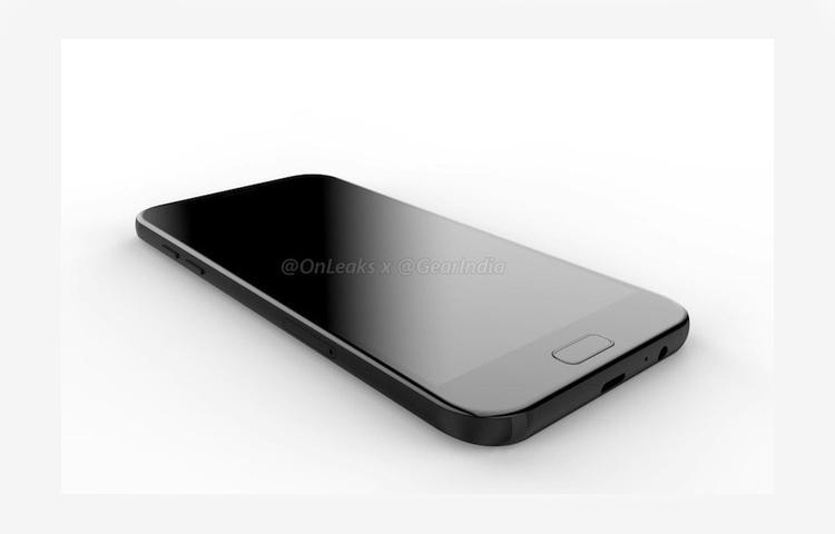 Lộ ảnh render và video của Samsung Galaxy A7 (2017)