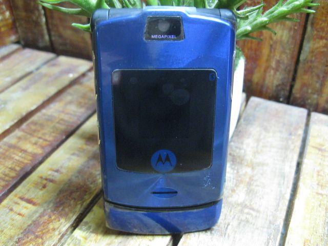 Motorola V3i Xanh Blue MS 1954