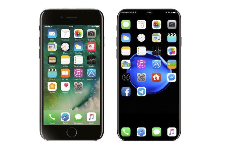 iPhone 8 với thiết kế không cạnh, 100% màn hình sẽ trông giống như thế này
