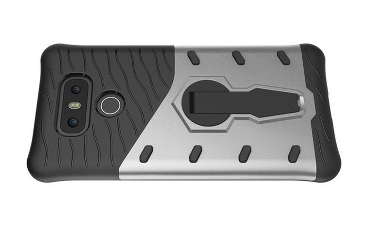 Mặt lưng của LG G6 giống hệt