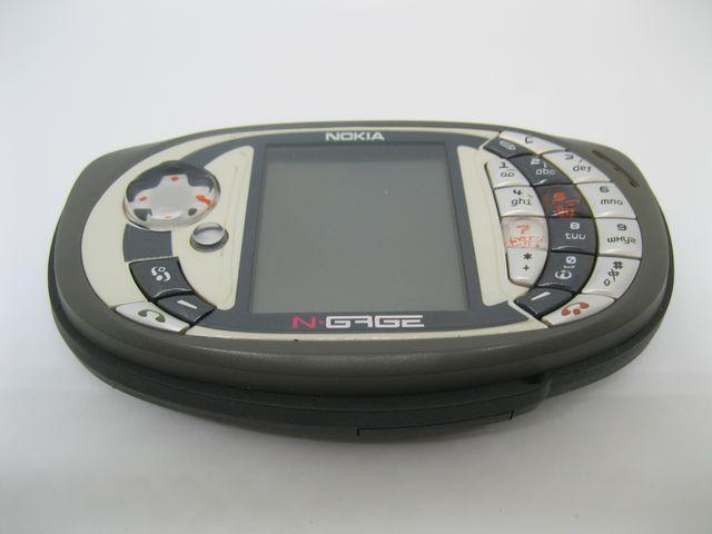 Nokia Ngage QD màu xám máy chơi Game huyền thoại, MS 2015