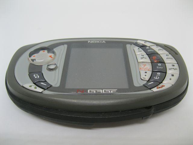 Nokia Ngage QD màu xám máy Game huyền thoại, đẹp 90% MS 2032
