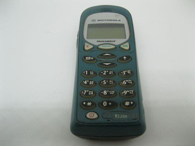 Motorola T2288 màu xanh dùng pin tiểu, đẹp 95% MS 2042