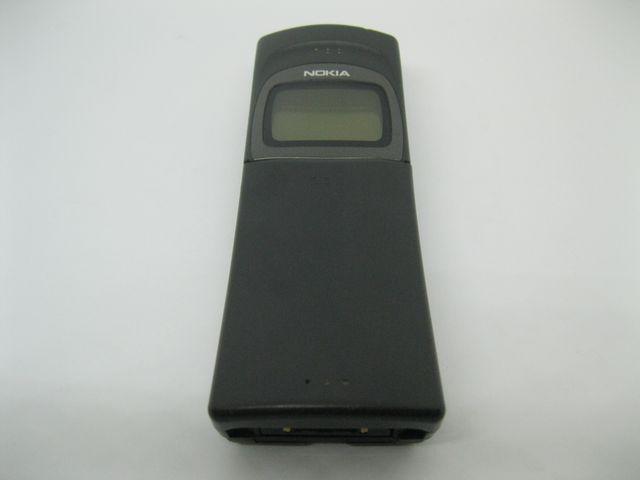 Nokia 8110 màu đen nhám trái chuối cong trượt phím, đẹp 95% MS 2049