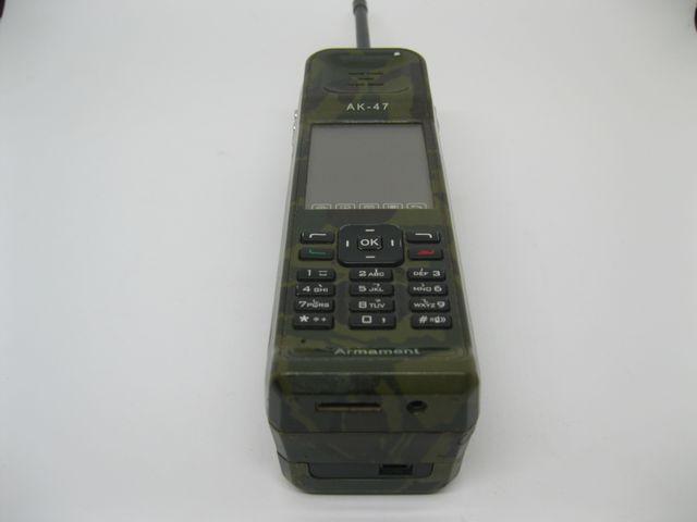 Điện thoại AK47 màu Camo xanh nguyên zin, đẹp 95% MS 2058