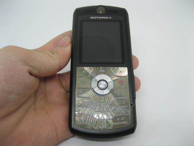 Motorola L7 siêu mỏng một thời màu Đen