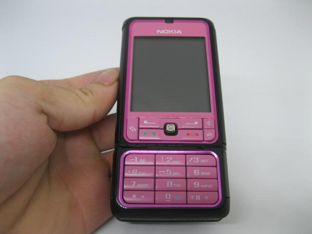 Nokia 3250 điện thoại xoay camera màu Hồng