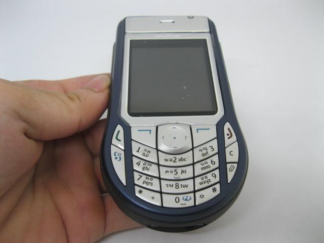 Nokia 6630 viên ngọc 3G một thời màu Xanh