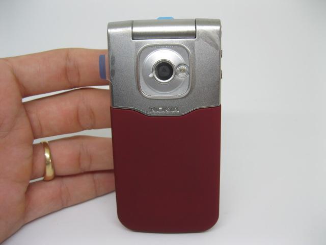 Nokia 7510a huyền thoại nắp bật màu Đỏ