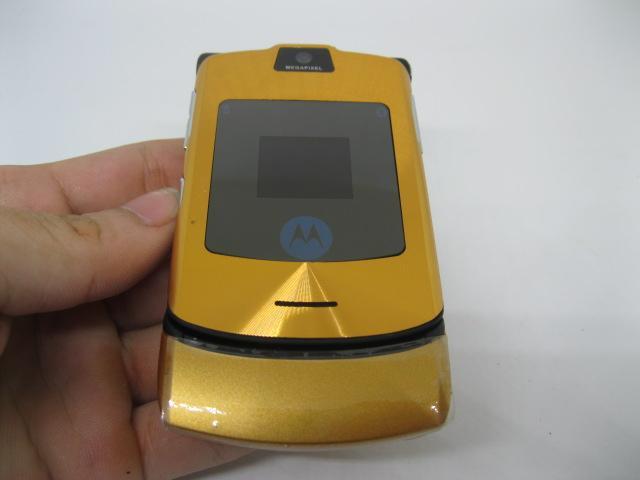 Motorola V3i đẳng cấp nắp gập màu Vàng