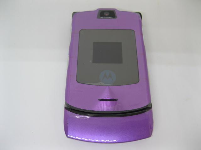 Motorola V3i đẳng cấp nắp gập màu Tím