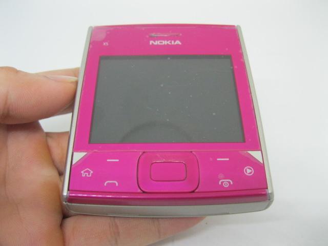 Nokia X5-01 siêu độc lạ màu Hồng