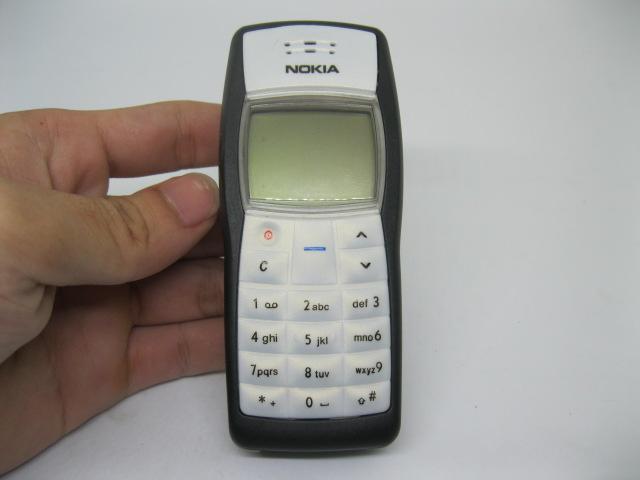 Nokia 1100 lưu danh một thời màu Đen