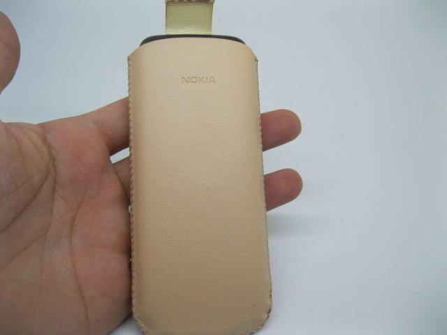 Bao da Nokia 8800 chính hãng màu Cafe sữa