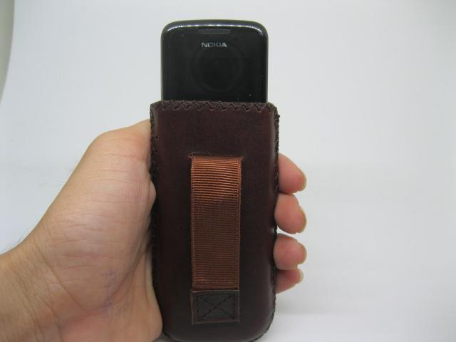 Bao da Nokia 8800 chính hãng màu Cafe sữa Nâu
