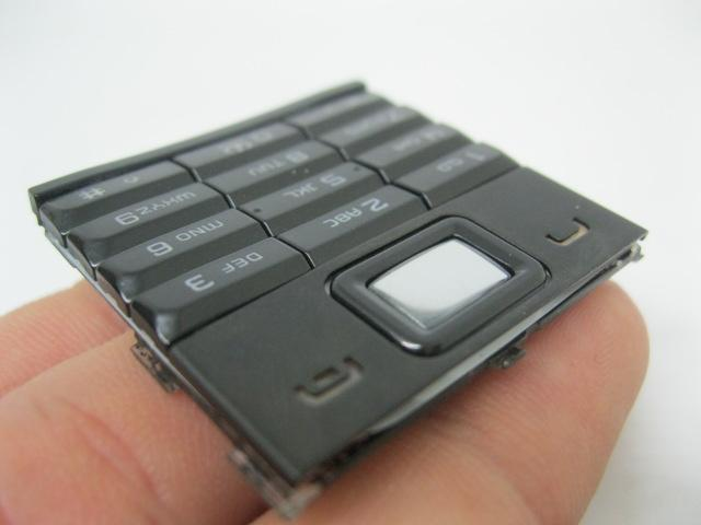 Phím Nokia 8800 Sirocco màu Đen loại zin máy