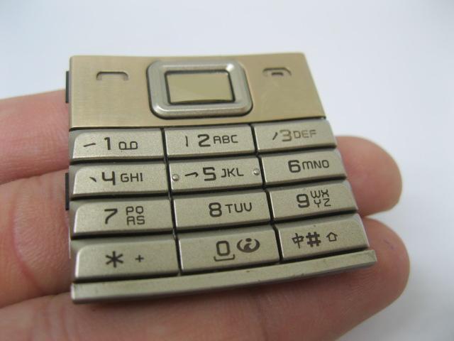 Phím Nokia 8800 Sirocco Gold loại 1