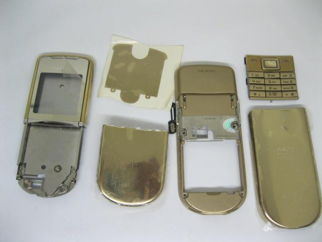 Vỏ Nokia 8800 Sirocco cực đẹp Gold loại 1
