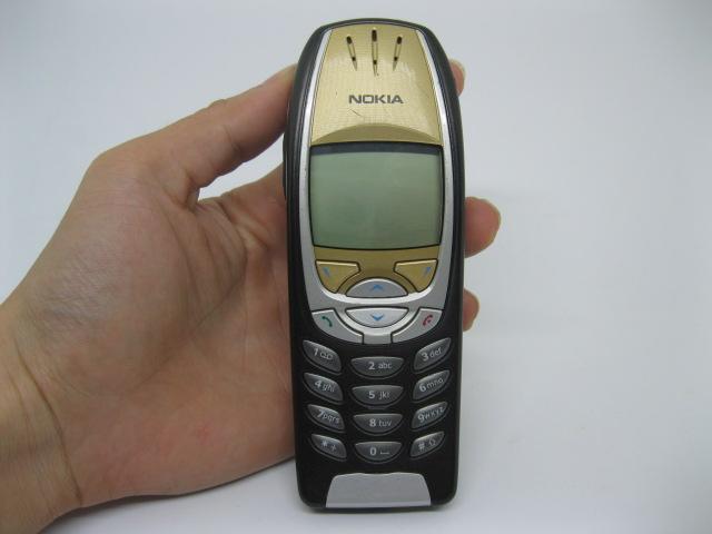 Nokia 6310i Mercedes màu đen mặc vàng, đẹp 92% MS 2089