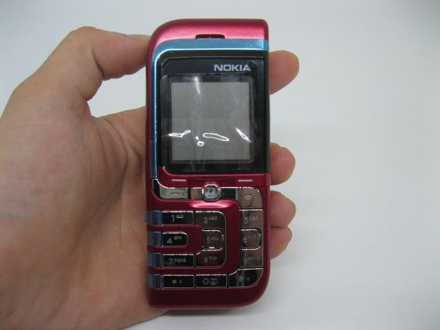 Nokia 7260 Lá nhỏ thời xưa màu Đỏ MS 2103