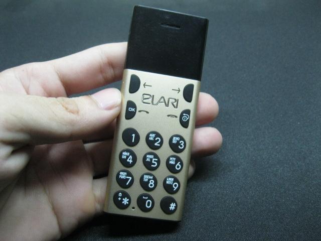 Elari NanoPhone - Điện thoại siêu nhỏ cực độc MS 2116