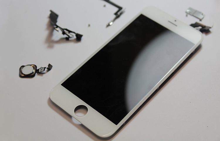 Hướng dẫn phân biệt màn hình iPhone zin và màn hình iPhone đã bị ép