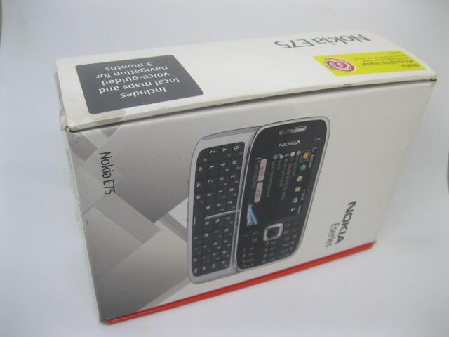 Nokia E75 Fullbox nguyên zin chính hãng MS 2164