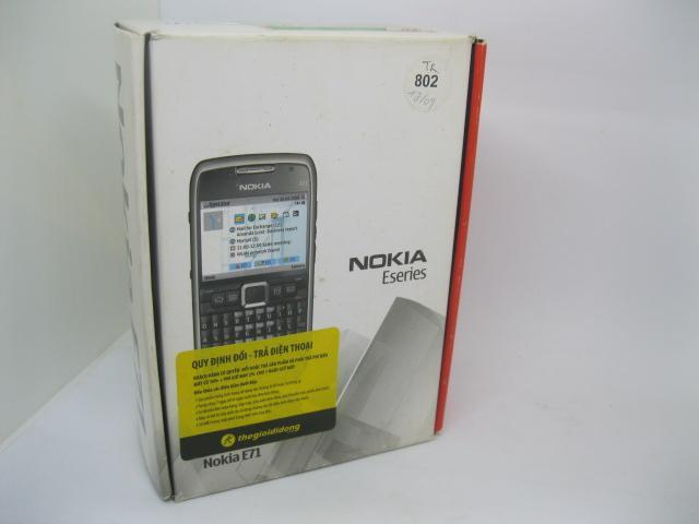 Nokia E71 Fulbox full zin chính hãng MS 2168