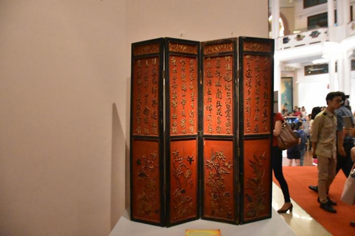 """Triển lãm trưng bày tại Bảo tàng Lịch sử Quốc gia Việt Nam với chủ đề """"Nét vàng son"""""""