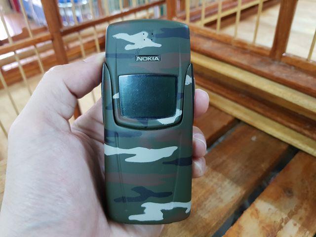 Nokia 8910i màu xanh quân đội đẹp 98% nguyên zin sơn lại - Ms 2249