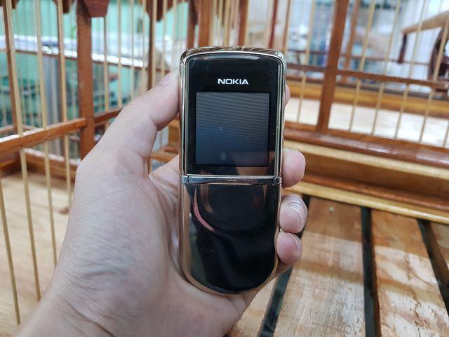 Nokia 8800 Sirocco màu Gold nguyên zin đẹp 98% MS 3101