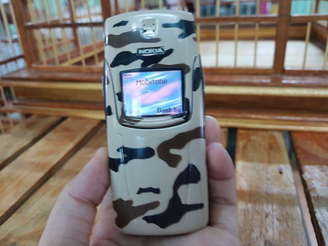 Nokia 8910i nguyên zin sơn lại màu quân phục Hàn Quốc đẹp 90% MS 2194