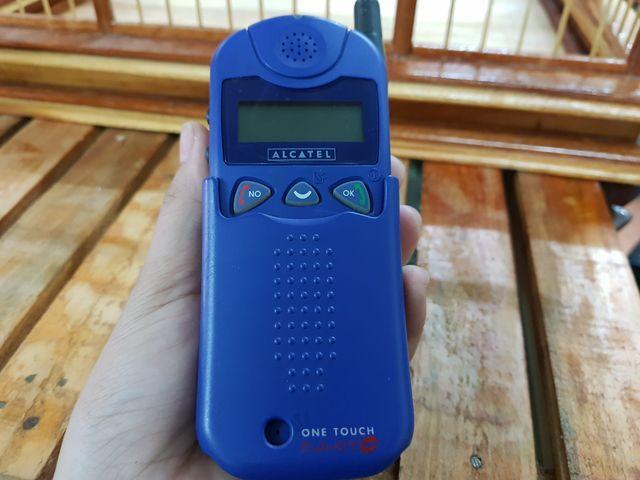 Alcatel HF màu xanh dương nguyên zin đẹp 97% - Ms 3005