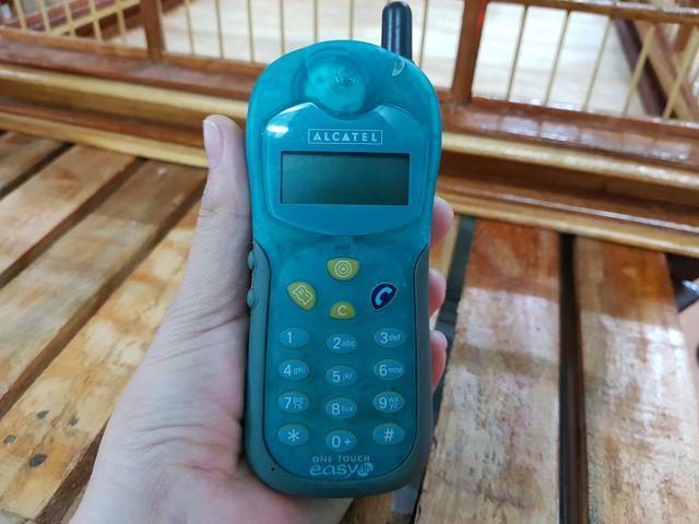 Alcatel DB màu xanh lá zin đét nguyên cây đẹp 97% - Ms 3006