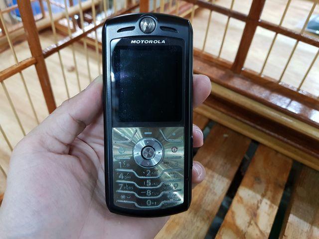 Motorola L7 màu đen đã thay vỏ zin đẹp 97% MS 3027