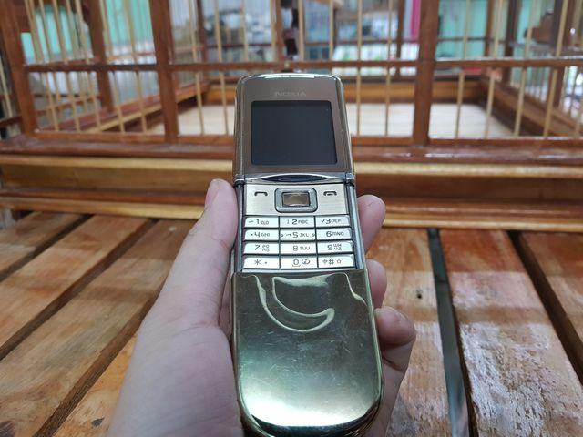 Nokia 8800 Sirocco màu gold nguyên zin thay vỏ đẹp 98% - Ms 3061